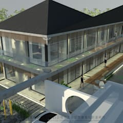 Hipped roof by 京悅室內裝修設計工程(有)公司|真水空間建築設計居研所