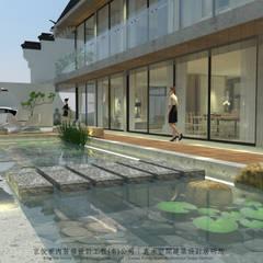 حیاط by 京悅室內裝修設計工程(有)公司|真水空間建築設計居研所