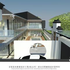 بركة مائية تنفيذ 京悅室內裝修設計工程(有)公司|真水空間建築設計居研所