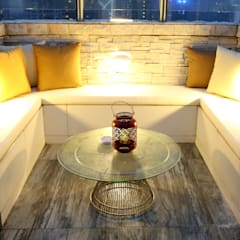 Modern balcony, veranda & terrace by B Squared Design Ltd. Modern