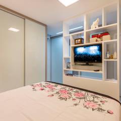 غرفة الملابس تنفيذ DM ARQUITETURA E ENGENHARIA