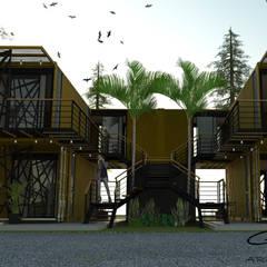 by GT-R Arquitectos Modern آئرن / اسٹیل
