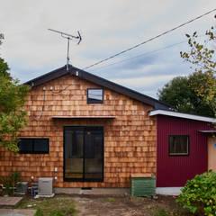 Casas de madera de estilo  por tai_tai STUDIO