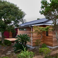 elevation: tai_tai STUDIOが手掛けた木造住宅です。