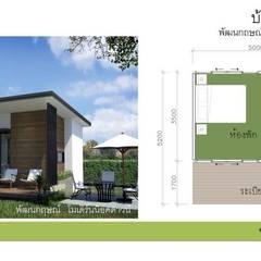 TYPE B:  บ้านและที่อยู่อาศัย by P Knockdown Style Modern