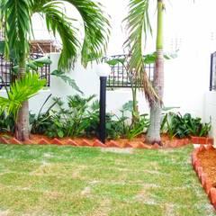 庭: 株式会社青空設計が手掛けた庭です。