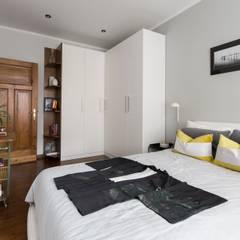 55m2 mieszkanie : styl , w kategorii Garderoba zaprojektowany przez Grant Studio