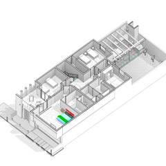 Casa Marlene: Comedores de estilo industrial por arkitecto9.com