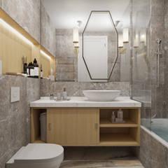 Элегантность с ярким характером: Ванные комнаты в . Автор – Студия дизайна интерьера Натальи Патрушевой