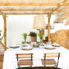 Proyecto Casa de Pueblo Costa Brava: Jardines de estilo  de Nice home barcelona