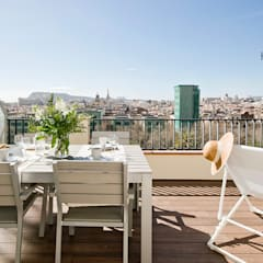 Terrace by Nice home barcelona,