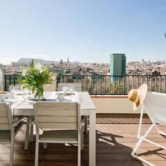 بلكونة أو شرفة تنفيذ Nice home barcelona,