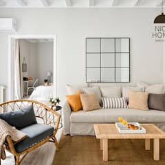 mediterranean Living room by Nice home barcelona