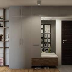 mieszkanie prywatne : styl , w kategorii Korytarz, przedpokój zaprojektowany przez UrbanForm