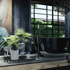 Quarto de banho: Banheiros  por Ocaeté Studio
