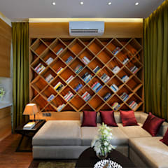 Residence at Pune:  Study/office by Racheta Interiors Pvt Limited
