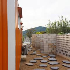 UNIBOX 'D'(Ver.당진) :  (주)감동C&D 유니박스의  정원 창고
