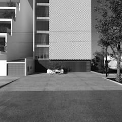 PROPUESTA DE DISEÑO Y CONSTRUCCIÓN - VIVIENDA MULTIFAMILIAR LA VICTORIA - CHICLAYO de CN y Arquitectos Moderno Hormigón reforzado