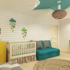 Детская комната: Детские комнаты в . Автор – Дизайн студия ТТ
