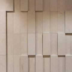 Pormenor do mural: Espaços de restauração  por BL Design Arquitectura e Interiores