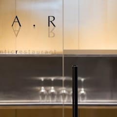 Pormenor da entrada: Espaços de restauração  por BL Design Arquitectura e Interiores