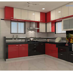 Built-in kitchens by shree lalitha consultants
