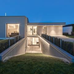 Lichthof:  Bungalow von gerken.architekten+ingenieure