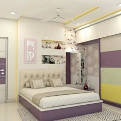Bedroom by shree lalitha consultants