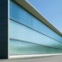 Rückseite des Werkstattgebäudes:  Häuser von pauly + fichter planungsgesellschaft mbH
