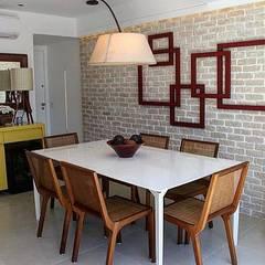 Modern dining room by Guaraúna Revestimentos Modern