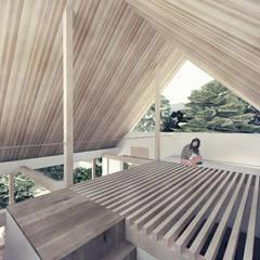 Projekty,  Dach zaprojektowane przez 富永大毅建築都市計画事務所