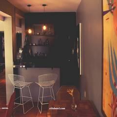 Cafeteria: Hotéis  por Eduardo e Marianna Arquitetura