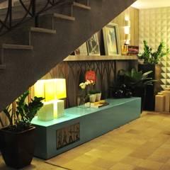 CasaCor 2014: Centros de exposições  por Erlon Tessari Arquitetura e Design de Interiores