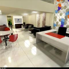 OFICINA -EMPRESA - El Color : Estudios y oficinas de estilo  por Aida Tropeano & Asoc.