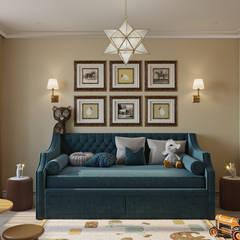 Boys Bedroom by Студия дизайна интерьера Натальи Патрушевой
