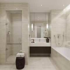 ЖК Южный: Ванные комнаты в . Автор – Студия дизайна интерьера Натальи Патрушевой