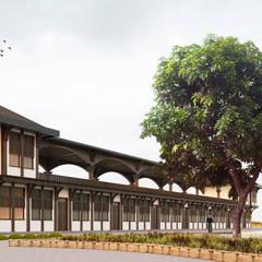 Two+architects – Ankara Keçiören Parkı Hizmet Birimi:  tarz Dükkânlar