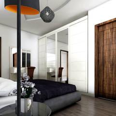 Two+architects – Florya Konut: klasik tarz tarz Yatak Odası