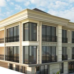 Two+architects – Florya Konut: klasik tarz tarz Evler
