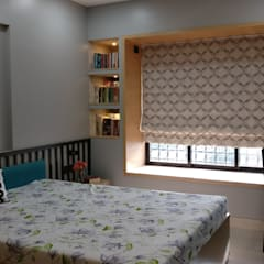 Window Ledge: scandinavian Bedroom by Olive Roof