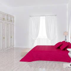 Дизайн-проект загородного дома в Крыму: Спальни в . Автор – Дизайн интерьера под ключ - GDESIGN