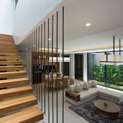 Corridor & hallway by Simple Projects Architecture