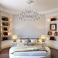 Дизайн дома в итальянском квартале:  Спальня by ДизайнРемонт