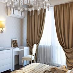 Дизайн дома в итальянском квартале:  Вітальня by ДизайнРемонт