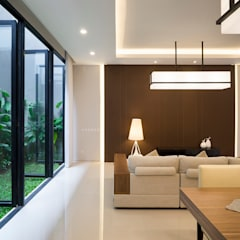 Living room by Simple Projects Architecture