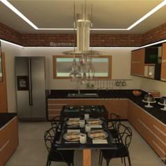 Cozinha: Cozinhas embutidas  por Gabriela Cardoso Arquitetura