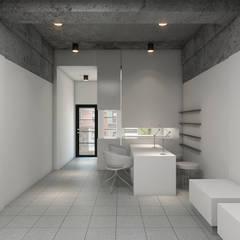 Nail Chamber :  Ruang Komersial by Chandra Cen Design