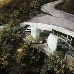 Penang Hill Rest Area:  Ruang Komersial by Chandra Cen Design