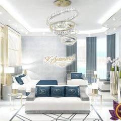 Moderne Schlafzimmer von Luxury Antonovich Design Modern