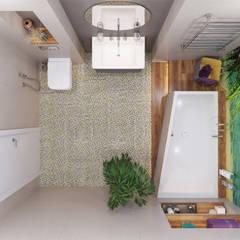 Дизайн ванных комнат для каталога ванн. : Ванные комнаты в . Автор – Aleksandra  Kostyuchkova